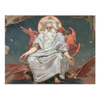 Savaoph, God the Father, 1885-96 Postcard