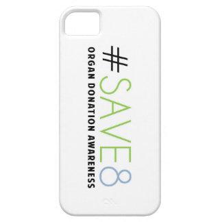 SAVE 8 Organ Donation Awareness iphone case
