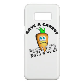 SAVE A CARROT - HAVE A COW Case-Mate SAMSUNG GALAXY S8 CASE