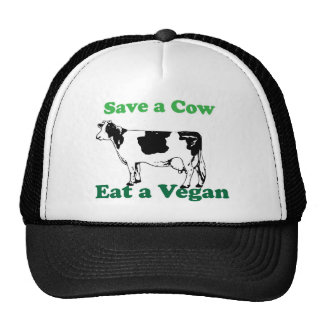 Save a Cow Trucker Hats