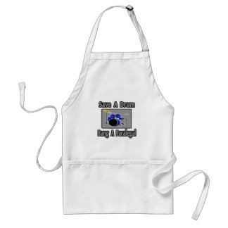Save a Drum...Bang a Paralegal Standard Apron