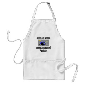 Save a Drum...Bang a Personal Trainer Apron