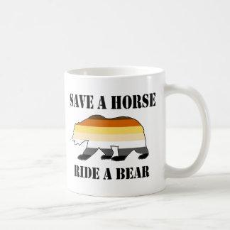 Save a Horse Ride a Bear Coffee Mug