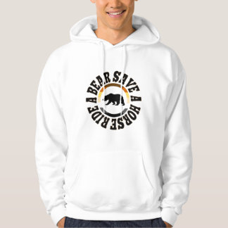 Save A Horse Ride A Bear Gay Bears Pride Flag Hoodie