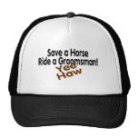 Save A Horse Ride A Groomsman Trucker Hat