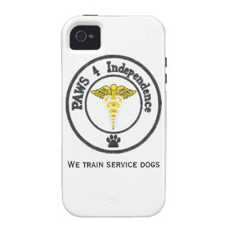 Save a human, support a service dog iPhone 4 case