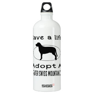Save a life adopt a Greater Swiss Mountain Dog SIGG Traveller 1.0L Water Bottle