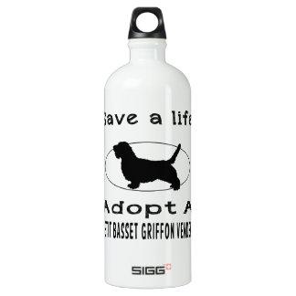 Save a life adopt a Petit Basset Griffon Vendeen SIGG Traveller 1.0L Water Bottle