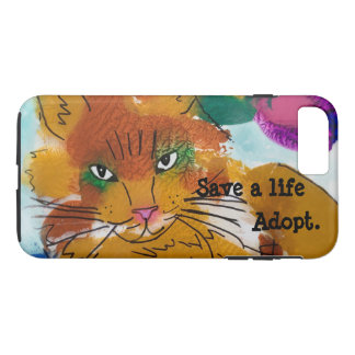 Save a Life, Adopt. iPhone 8 Plus/7 Plus Case