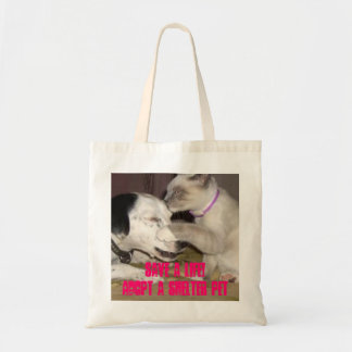 save a life cat/dog shelter pet tote