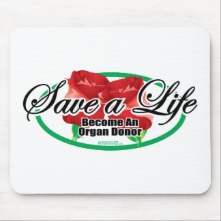 Save A Life Organ Donor Mouse Pad