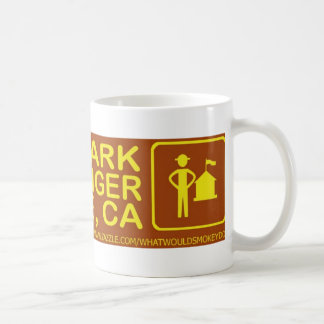 save a park hug a ranger san jose stuff coffee mug