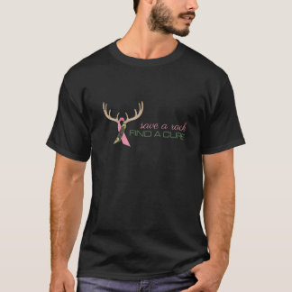 Save A Rack Find A Cure T-Shirt