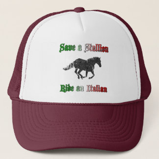 Save a Stallion Ride an Italian Hat
