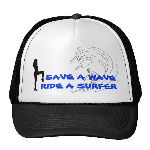 SAVE A WAVE MESH HAT