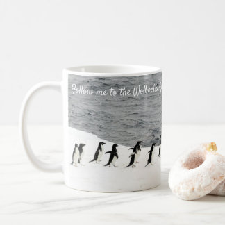 Save Adélie Penguins by RoseWrites Coffee Mug