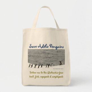Save Adélie Penguins by RoseWrites Tote Bag