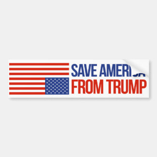 Save America From Trump - Resistance Bumper Sticke Bumper Sticker