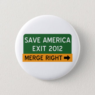 Save America Repulican 6 Cm Round Badge