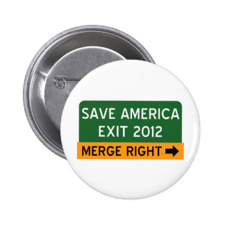 Save America Repulican 6 Cm Round Badge