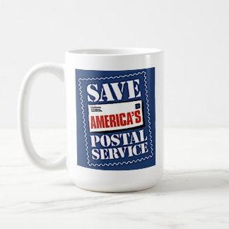 Save America's Postal Service Basic White Mug