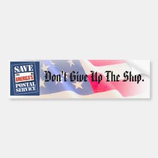 Save America's Postal Service Bumper Sticker