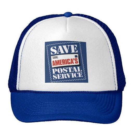 Save America's Postal Service Hats