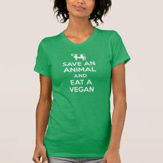 Save an Animal and Eat a Vegan T-Shirt