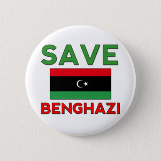 Save Benghazi 6 Cm Round Badge