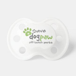 Save DOGPAW off-leash Parks Pacifier