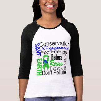 Save Earth Environment Awareness Collage Tshirts