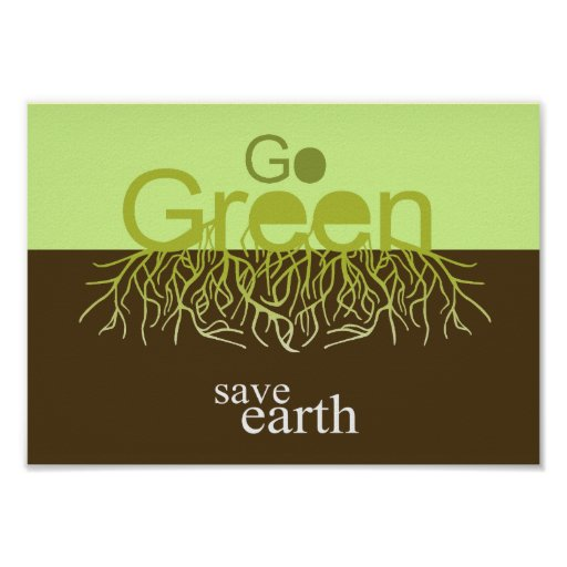 SAVE EARTH PRINT