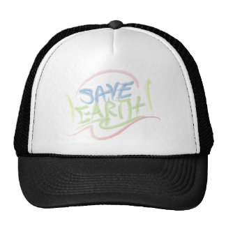 Save Earth! - s Art - Water Color Cap