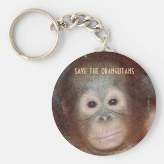 Save Endangered Wildlife Key Ring