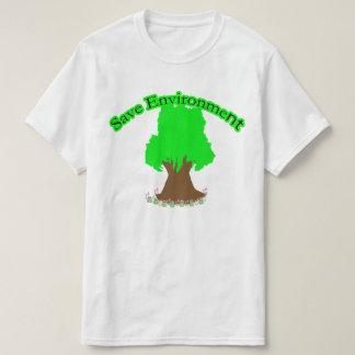 Save Environment T-Shirt