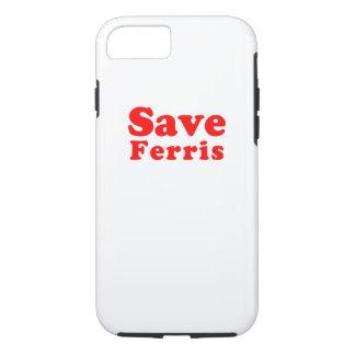 Save Ferris iPhone 8/7 Case