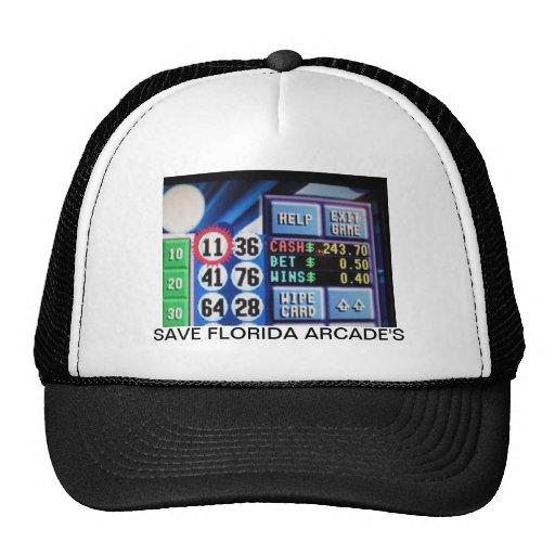 SAVE FLORIDA ARCADE'S TRUCKER HATS