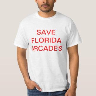 SAVE FLORIDA ARCADE'S TEE SHIRTS