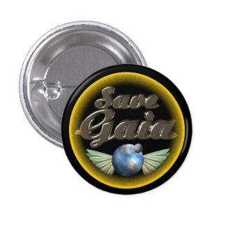 Save Gaia our Earth Pins