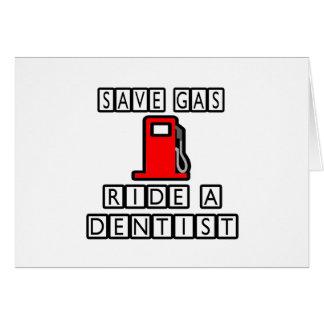 Save Gas...Ride A Dentist Card