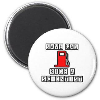 Save Gas...Ride A Scientist Magnet