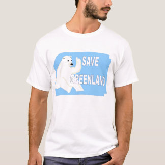 Save Greenland T-Shirt