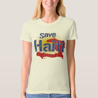 Save Haiti (Blue)  - Proceeds go to RED CROSS Shirts