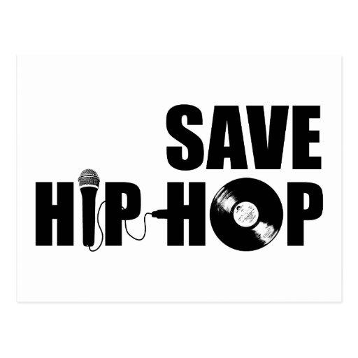 Save Hip-Hop Postcards