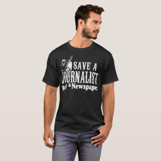 Save Journalist Buy A Newspaper Tshirt