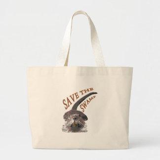 Save Large Tote Bag