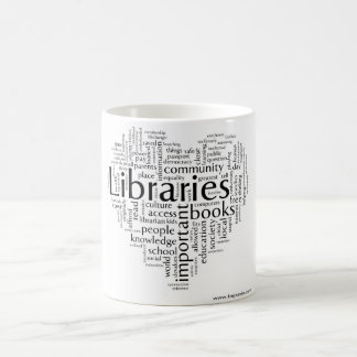 Save libraries 5 coffee mug