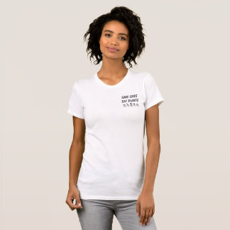 SAVE LIVES EAT PLANTS T-Shirt
