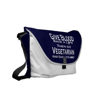 Save Lives Messenger Bag