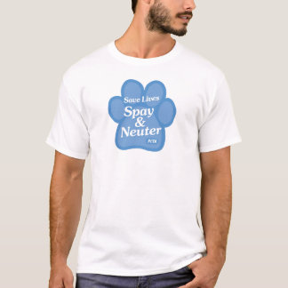 Save Lives, Spay & Neuter Shirt